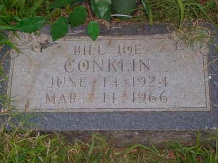 CONKLIN, BILL JOE - Boone County, Arkansas | BILL JOE CONKLIN - Arkansas Gravestone Photos