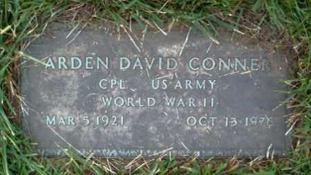CONNER  (VETERAN WWII), ARDEN DAVID - Boone County, Arkansas | ARDEN DAVID CONNER  (VETERAN WWII) - Arkansas Gravestone Photos