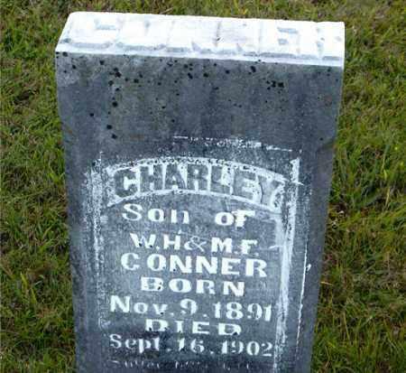 CONNER, CHARLEY - Boone County, Arkansas | CHARLEY CONNER - Arkansas Gravestone Photos