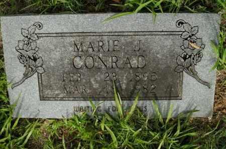 CONRAD, MARIE J. - Boone County, Arkansas   MARIE J. CONRAD - Arkansas Gravestone Photos
