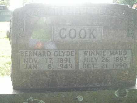 COOK, BERNARD CLYDE - Boone County, Arkansas | BERNARD CLYDE COOK - Arkansas Gravestone Photos