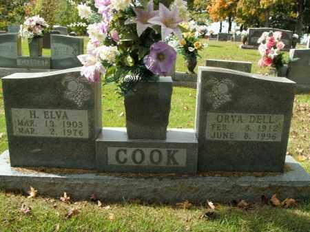 COOK, HERBERT ELVA - Boone County, Arkansas | HERBERT ELVA COOK - Arkansas Gravestone Photos