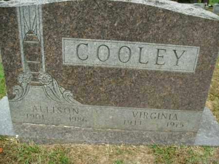 COOLEY, VIRGINIA - Boone County, Arkansas | VIRGINIA COOLEY - Arkansas Gravestone Photos