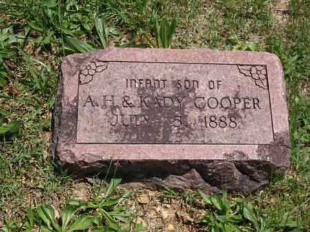 COOPER, INFANT SON - Boone County, Arkansas   INFANT SON COOPER - Arkansas Gravestone Photos