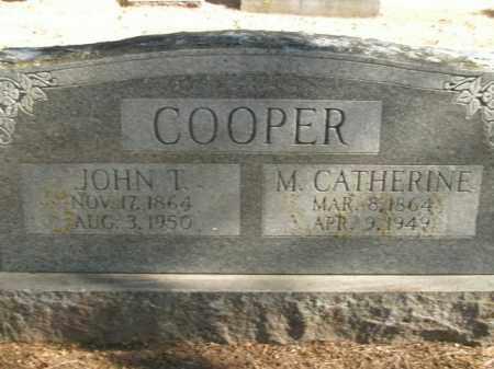 COOPER, JOHN T. - Boone County, Arkansas   JOHN T. COOPER - Arkansas Gravestone Photos