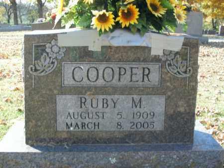 COOPER, RUBY M. - Boone County, Arkansas   RUBY M. COOPER - Arkansas Gravestone Photos