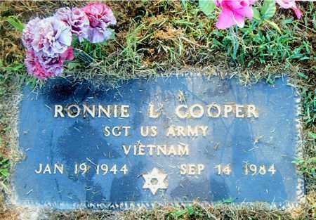 COOPER  (VETERAN VIET), RONNIE LEE - Boone County, Arkansas   RONNIE LEE COOPER  (VETERAN VIET) - Arkansas Gravestone Photos