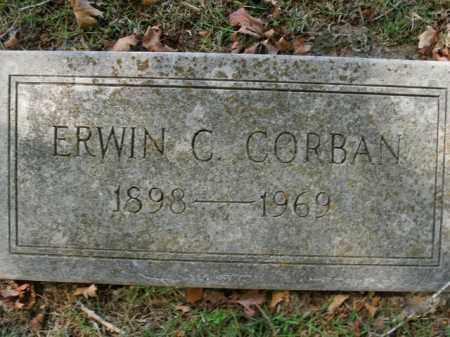 CORBAN, ERWIN C. - Boone County, Arkansas | ERWIN C. CORBAN - Arkansas Gravestone Photos