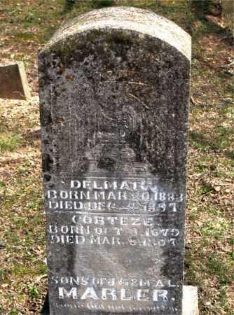MARLER, DELMARE - Boone County, Arkansas | DELMARE MARLER - Arkansas Gravestone Photos