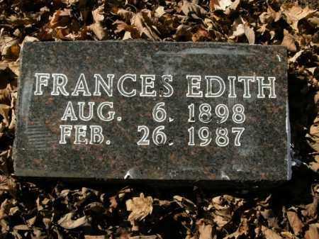 COTTON, FRANCES EDITH - Boone County, Arkansas | FRANCES EDITH COTTON - Arkansas Gravestone Photos
