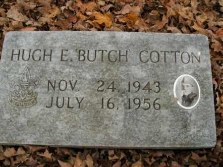COTTON, HUGH EDWARD - Boone County, Arkansas | HUGH EDWARD COTTON - Arkansas Gravestone Photos