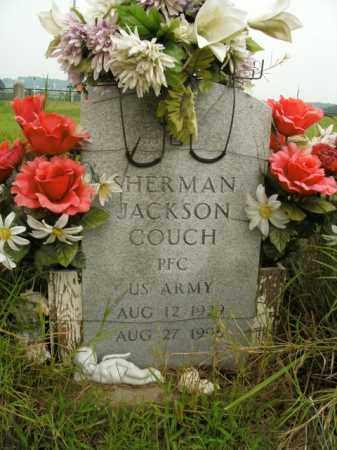 COUCH  (VETERAN), SHERMAN JACKSON - Boone County, Arkansas | SHERMAN JACKSON COUCH  (VETERAN) - Arkansas Gravestone Photos