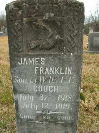 COUCH, JAMES FRANKLIN - Boone County, Arkansas | JAMES FRANKLIN COUCH - Arkansas Gravestone Photos