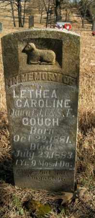 COUCH, LETHEA CAROLINE - Boone County, Arkansas | LETHEA CAROLINE COUCH - Arkansas Gravestone Photos