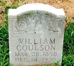 COULSON, WILLIAM - Boone County, Arkansas | WILLIAM COULSON - Arkansas Gravestone Photos