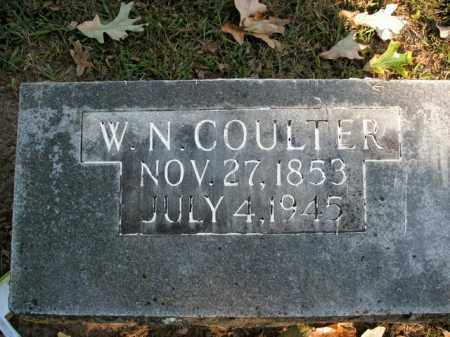 COULTER, W.N. - Boone County, Arkansas | W.N. COULTER - Arkansas Gravestone Photos