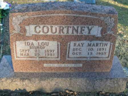 BISHOP COURTNEY, IDA LOU - Boone County, Arkansas   IDA LOU BISHOP COURTNEY - Arkansas Gravestone Photos