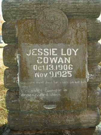 COWAN, JESSIE LOY - Boone County, Arkansas | JESSIE LOY COWAN - Arkansas Gravestone Photos