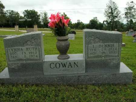 COWAN, LONNIE DENNIS - Boone County, Arkansas | LONNIE DENNIS COWAN - Arkansas Gravestone Photos