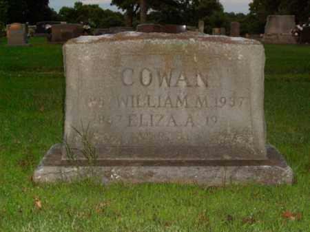 COWAN, WILLIAM M. - Boone County, Arkansas | WILLIAM M. COWAN - Arkansas Gravestone Photos