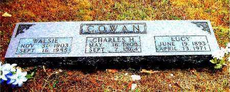 COWAN, LUCY - Boone County, Arkansas | LUCY COWAN - Arkansas Gravestone Photos