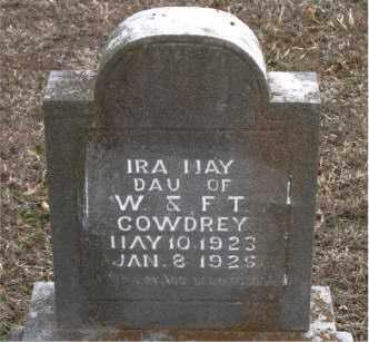 COWDREY, IRA MAY - Boone County, Arkansas | IRA MAY COWDREY - Arkansas Gravestone Photos