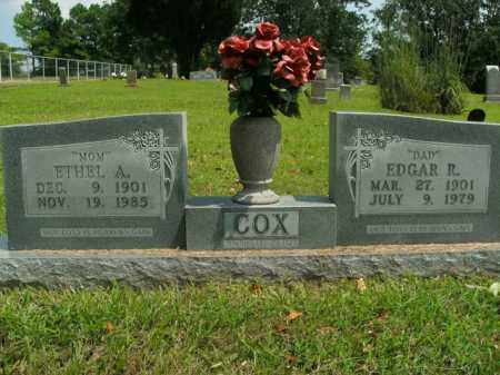 COX, EDGAR ROUTH - Boone County, Arkansas | EDGAR ROUTH COX - Arkansas Gravestone Photos