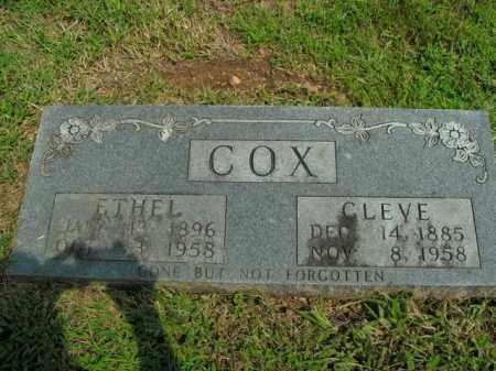 COX, JESSIE ETHEL - Boone County, Arkansas | JESSIE ETHEL COX - Arkansas Gravestone Photos
