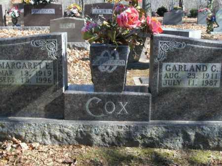 COX, GARLAND C. - Boone County, Arkansas | GARLAND C. COX - Arkansas Gravestone Photos