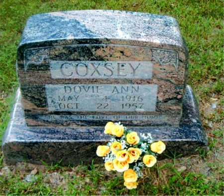 COXSEY, DOVIE ANN - Boone County, Arkansas | DOVIE ANN COXSEY - Arkansas Gravestone Photos