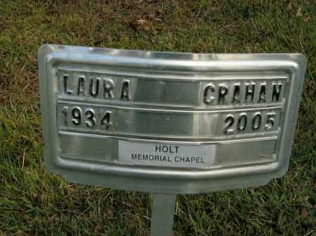 CRAHAN, LAURA - Boone County, Arkansas | LAURA CRAHAN - Arkansas Gravestone Photos