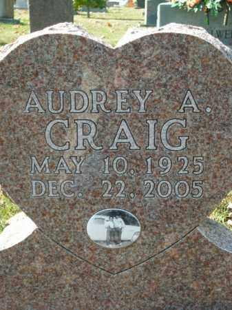 CRAIG, AUDREY A. - Boone County, Arkansas | AUDREY A. CRAIG - Arkansas Gravestone Photos