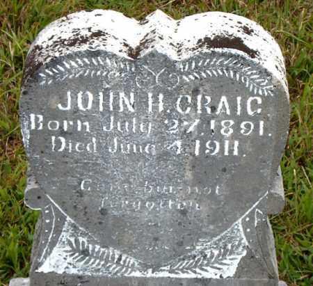 CRAIG, JOHN  H. - Boone County, Arkansas | JOHN  H. CRAIG - Arkansas Gravestone Photos