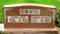BROWN CRAIG, CORA LEE - Boone County, Arkansas   CORA LEE BROWN CRAIG - Arkansas Gravestone Photos