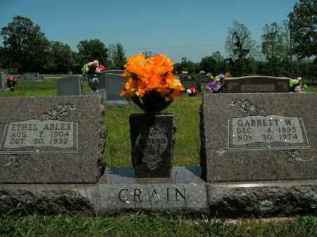 CRAIN, ETHEL ABLES - Boone County, Arkansas   ETHEL ABLES CRAIN - Arkansas Gravestone Photos