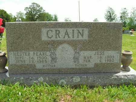 CRAIN, HESTER PEARL - Boone County, Arkansas | HESTER PEARL CRAIN - Arkansas Gravestone Photos