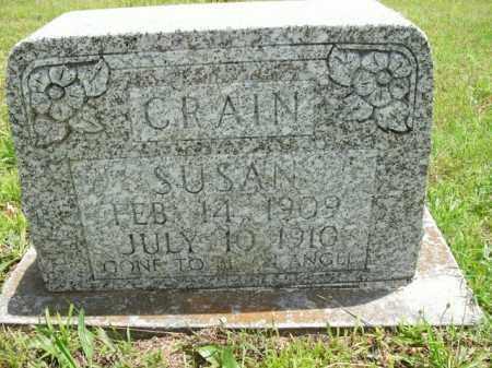 CRAIN, SUSAN - Boone County, Arkansas | SUSAN CRAIN - Arkansas Gravestone Photos