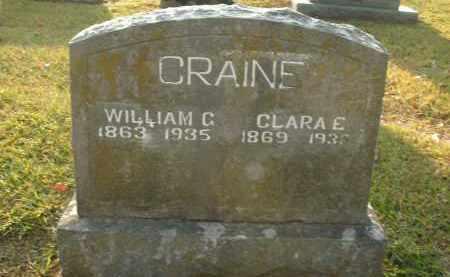 CRAINE, WILLIAM G. - Boone County, Arkansas   WILLIAM G. CRAINE - Arkansas Gravestone Photos