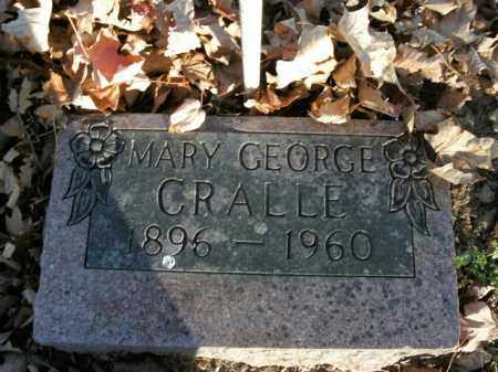 CRALLE, MARY GEORGE - Boone County, Arkansas | MARY GEORGE CRALLE - Arkansas Gravestone Photos