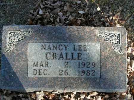 CRALLE, NANCY LEE - Boone County, Arkansas   NANCY LEE CRALLE - Arkansas Gravestone Photos