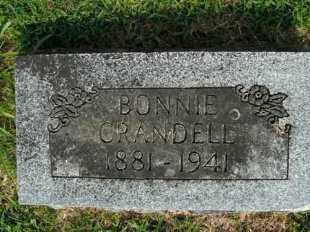 CRANDELL, BONNIE - Boone County, Arkansas | BONNIE CRANDELL - Arkansas Gravestone Photos
