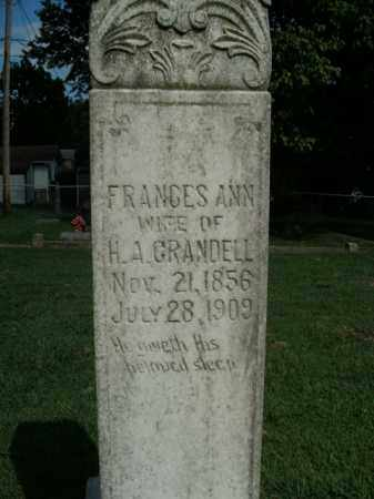 CRANDELL, FRANCES ANN - Boone County, Arkansas | FRANCES ANN CRANDELL - Arkansas Gravestone Photos