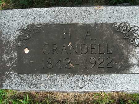 CRANDELL  (VETERAN UNION), HENRY ALTON - Boone County, Arkansas | HENRY ALTON CRANDELL  (VETERAN UNION) - Arkansas Gravestone Photos