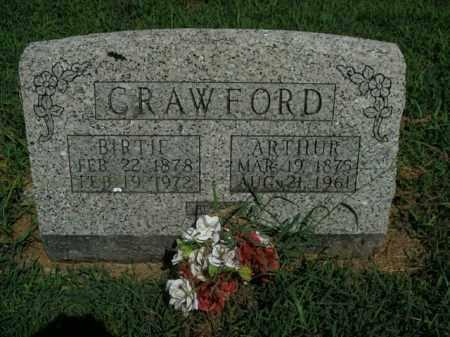 CRAWFORD, ARTHUR - Boone County, Arkansas | ARTHUR CRAWFORD - Arkansas Gravestone Photos