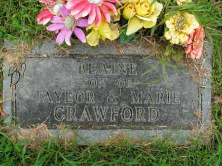 CRAWFORD, BLAINE - Boone County, Arkansas | BLAINE CRAWFORD - Arkansas Gravestone Photos
