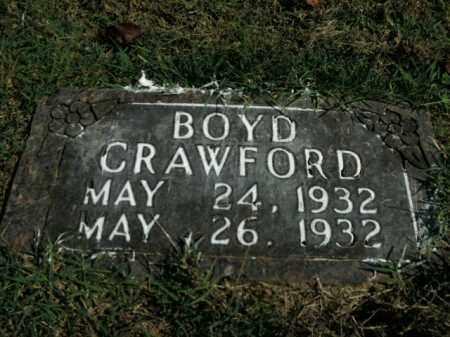 CRAWFORD, BOYD - Boone County, Arkansas | BOYD CRAWFORD - Arkansas Gravestone Photos