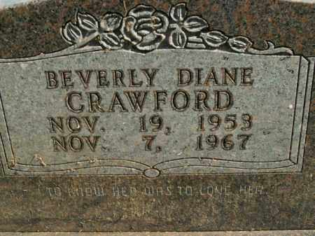 CRAWFORD, BEVERLY DIANE - Boone County, Arkansas | BEVERLY DIANE CRAWFORD - Arkansas Gravestone Photos