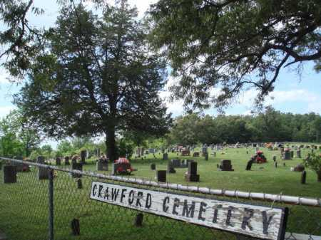 *CRAWFORD CEMETERY OVERVIEW,  - Boone County, Arkansas    *CRAWFORD CEMETERY OVERVIEW - Arkansas Gravestone Photos