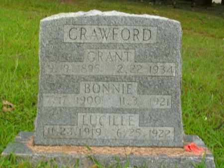 CRAWFORD, BONNIE - Boone County, Arkansas | BONNIE CRAWFORD - Arkansas Gravestone Photos