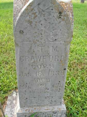 CRAWFORD, J.T.M. - Boone County, Arkansas | J.T.M. CRAWFORD - Arkansas Gravestone Photos